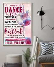 THANKS TO DANCE  11x17 Poster lifestyle-poster-1