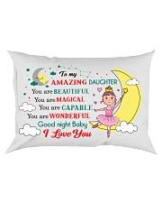 TO MY AMAZING DAUGHTER  Rectangular Pillowcase front
