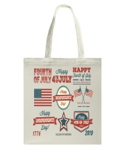 happy 4th of july shirt independente day america  Tote Bag front