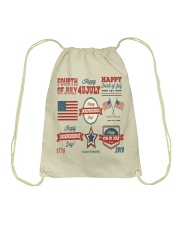 happy 4th of july shirt independente day america  Drawstring Bag thumbnail