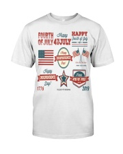 happy 4th of july shirt independente day america  Classic T-Shirt thumbnail