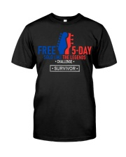 5-Day Solo Like The Legends Challenge - Survivor Classic T-Shirt front