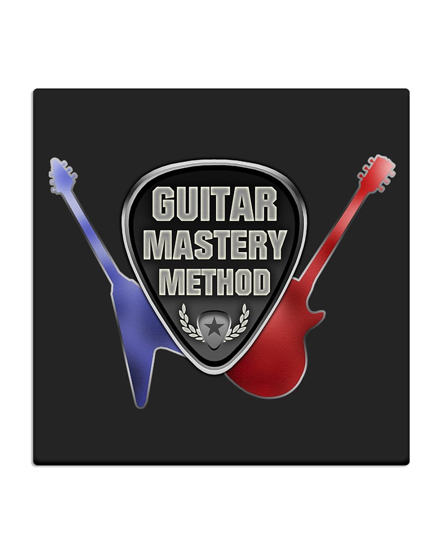 Household Guitar Mastery Method Items Square Coaster