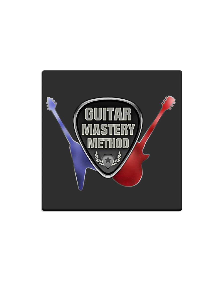 Household Guitar Mastery Method Items Square Magnet