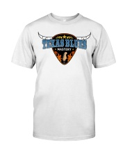 Texas Blues Mastery Classic T-Shirt front