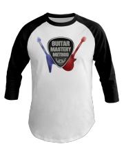 Guitar Mastery Method - Baseball Tee Baseball Tee front