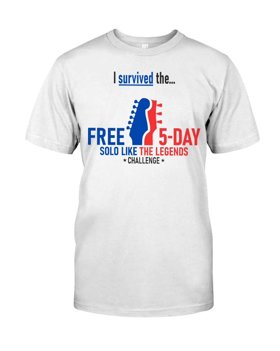5-Day Challenge - Survived Classic T-Shirt