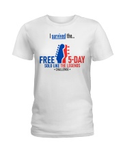 5-Day Challenge - Survived Ladies T-Shirt thumbnail