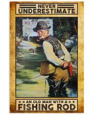Fishing poster121002 16x24 Poster front