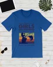 some girls go fishing and drink to much its me  Classic T-Shirt lifestyle-mens-crewneck-front-17