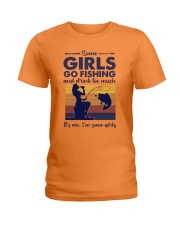 some girls go fishing and drink to much its me  Ladies T-Shirt tile
