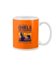 some girls go fishing and drink to much its me  Mug tile