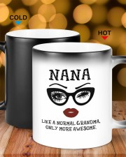 nana like a normal grandma only more awesome Color Changing Mug ceramic-color-changing-mug-lifestyle-17