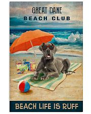 Great Dane1 16x24 Poster front