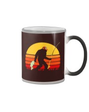 you're lucky i'm here i could have gone fishing Color Changing Mug tile