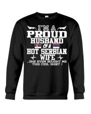 Serbian Wife 121920912019201Png Funny shirt Crewneck Sweatshirt thumbnail