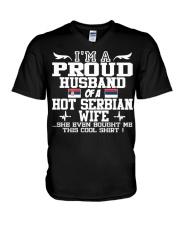 Serbian Wife 121920912019201Png Funny shirt V-Neck T-Shirt thumbnail