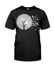 Fall Leaves Autumn Funny Tee shirts Classic T-Shirt front