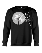 Fall Leaves Autumn Funny Tee shirts Crewneck Sweatshirt thumbnail
