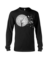Fall Leaves Autumn Funny Tee shirts Long Sleeve Tee thumbnail