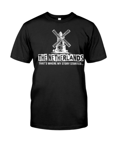 THE NETHERLANDS THAT'S WHERE MY STORY STARTED