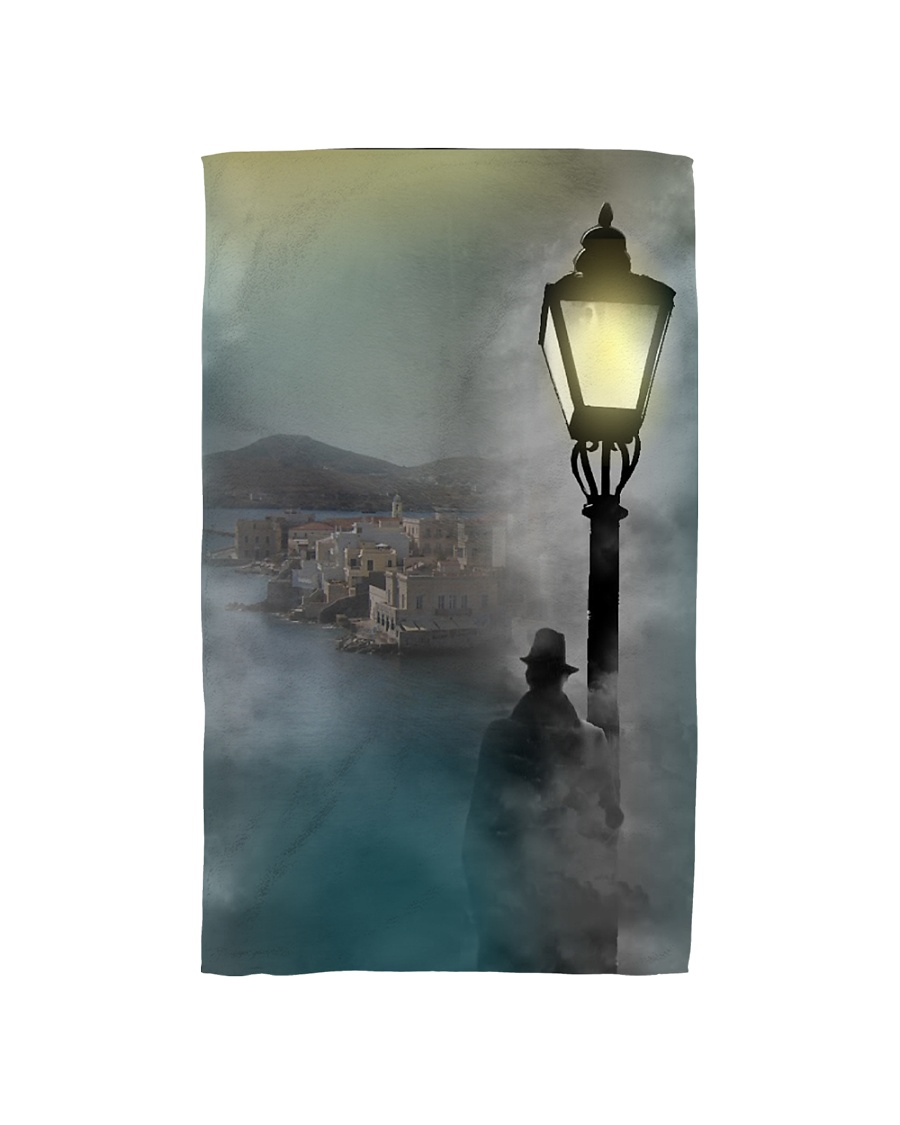 Adventures of Lieutenant Liadelis - James Antoniou Hand Towel