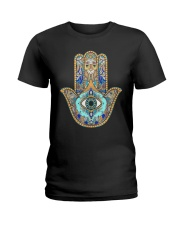 Buddha Yoga Buddhism Zen Ladies T-Shirt tile
