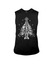 Guns Christmas Tree Handgun Assault Rifle Sleeveless Tee thumbnail
