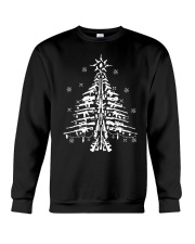 Guns Christmas Tree Handgun Assault Rifle Crewneck Sweatshirt thumbnail