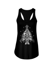 Guns Christmas Tree Handgun Assault Rifle Ladies Flowy Tank thumbnail