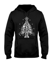 Guns Christmas Tree Handgun Assault Rifle Hooded Sweatshirt thumbnail