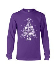 Guns Christmas Tree Handgun Assault Rifle Long Sleeve Tee thumbnail