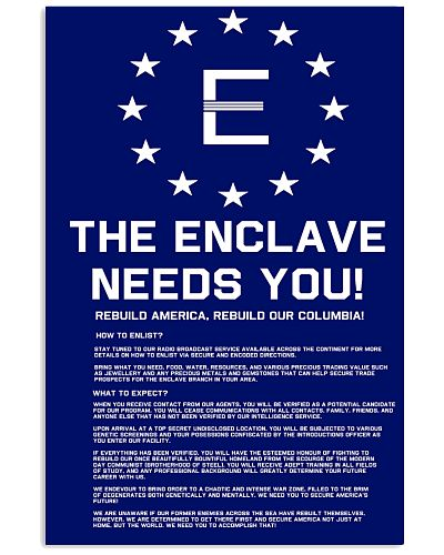 Fallout 3 - Enclave Recruitment Poster