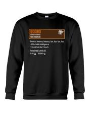 BOOBS - HEAVY ARMOR Crewneck Sweatshirt thumbnail