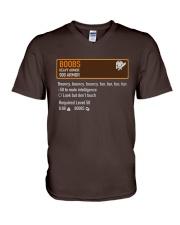 BOOBS - HEAVY ARMOR V-Neck T-Shirt thumbnail