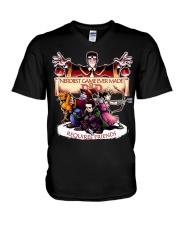 DnD The Nerdiest Game Ever V-Neck T-Shirt thumbnail