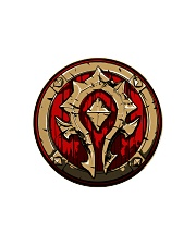 HORDE CUTTING BOARD  Circle Cutting Board front