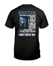 Hector Classic T-Shirt back