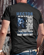 Hector Classic T-Shirt lifestyle-mens-crewneck-back-2