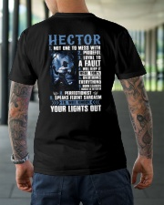 Hector Classic T-Shirt lifestyle-mens-crewneck-back-3