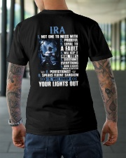 Ira Classic T-Shirt lifestyle-mens-crewneck-back-3