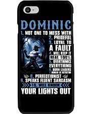 Dominic Phone Case thumbnail