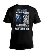 Jesse-01 V-Neck T-Shirt thumbnail
