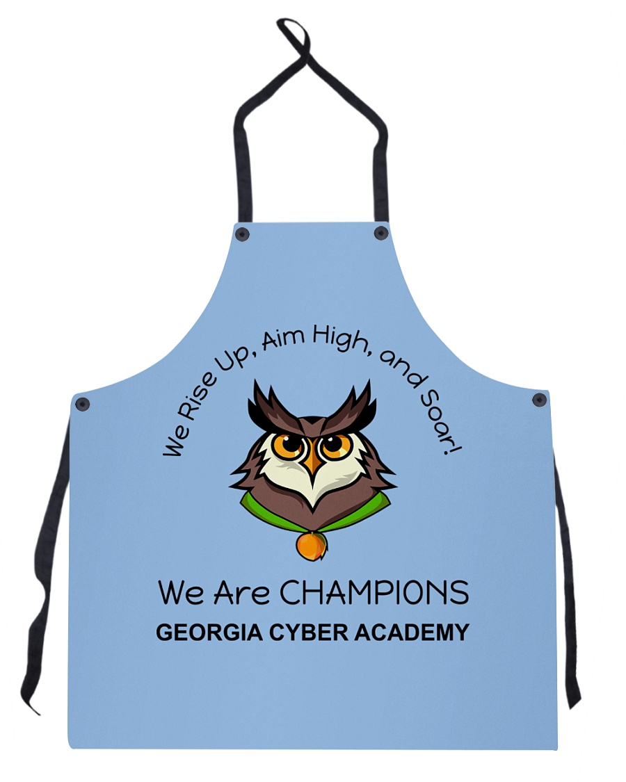 Back To School Full Color 4 Apron