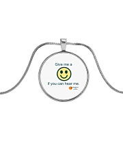 GCA PTSO Fall Fundraiser Metallic Circle Necklace thumbnail