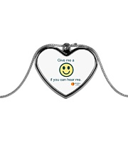 GCA PTSO Fall Fundraiser Metallic Heart Necklace thumbnail