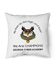 """Back To School Full Color 3 Indoor Pillow - 16"""" x 16"""" thumbnail"""