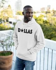Dallas Texas Star Hooded Sweatshirt apparel-hooded-sweatshirt-lifestyle-front-16