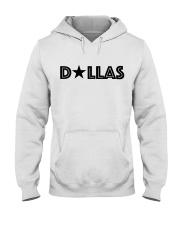 Dallas Texas Star Hooded Sweatshirt front