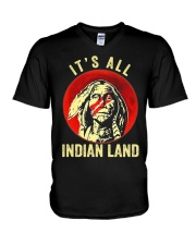 Its All Indian Land V-Neck T-Shirt thumbnail